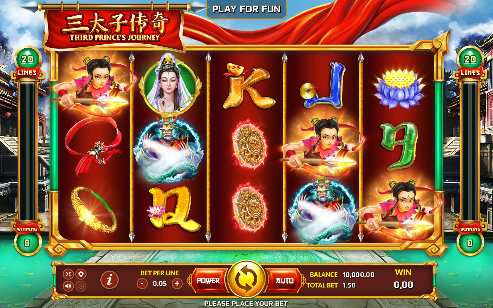 Spiele The Third Lotus Prince - Video Slots Online